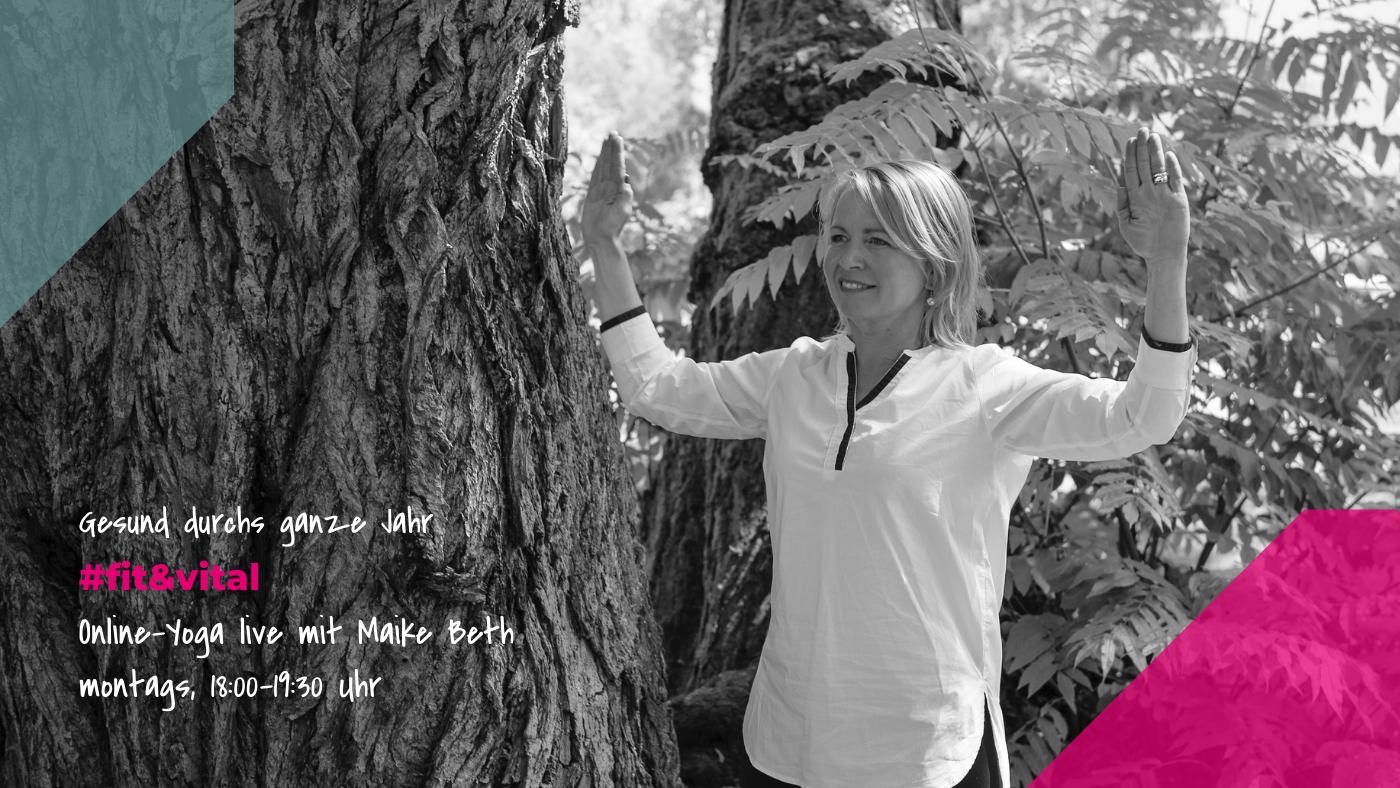 Herzlich Willkommen zum Kurs #fit&vital von BrilliantHealth mit Maike Beth