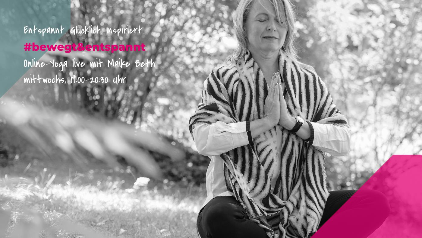Herzlich Willkommen zum Kurs #bewegt&entspannt von BrilliantHealth mit Maike Beth
